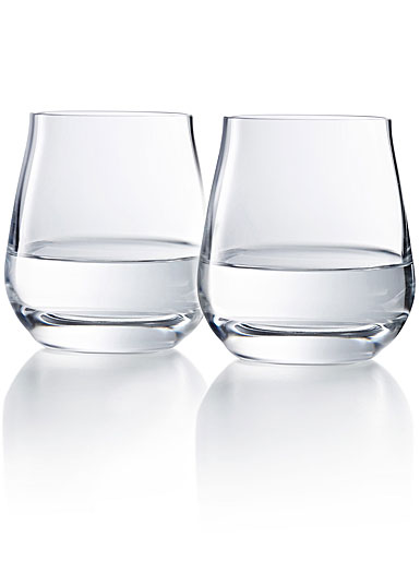 Chateau Baccarat, Degustation Stemless Wine Tumbler No. 3, Boxed Pair