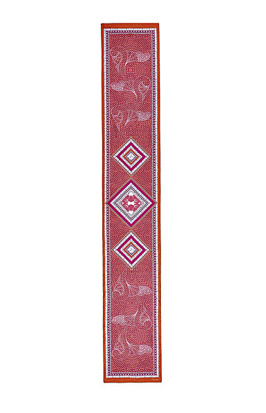 "Baccarat Louxor Silk Maxi Tie 12"" X 70"", Pink"