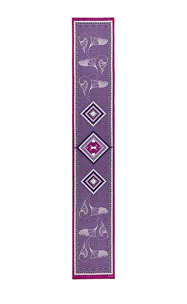 Baccarat Louxor Silk Maxi Tie 12'' X 70'', Purple
