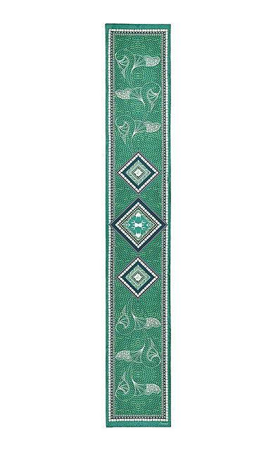 Baccarat Louxor Silk Maxi Tie 12'' X 70'', Green