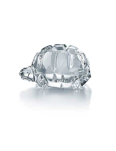 Baccarat Crystal, Heritage Turtle Zoe, Clear