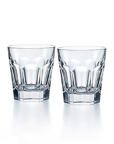 Baccarat Crystal, Harcourt 1841 Crystal Old Fashioned Tumbler, Pair