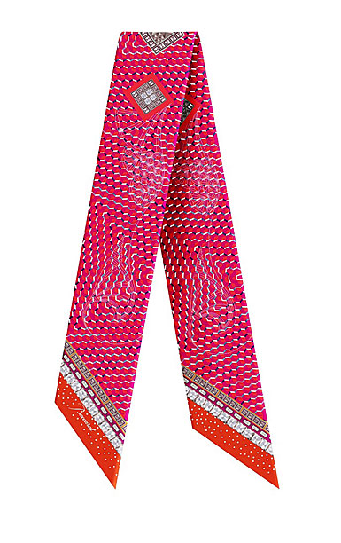Baccarat Louxor Silk Tie 3'' X 40'', Pink