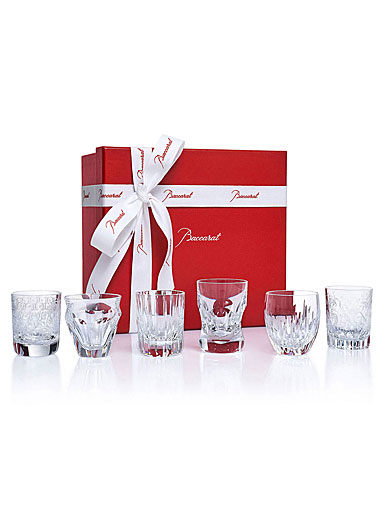 Baccarat Crystal, Everyday Les Minis Take A Shot, Gift Boxed Set of Six