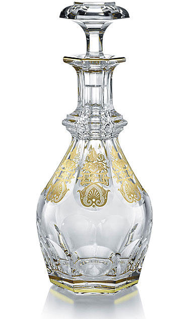 baccarat crystal harcourt empire large crystal decanter. Black Bedroom Furniture Sets. Home Design Ideas