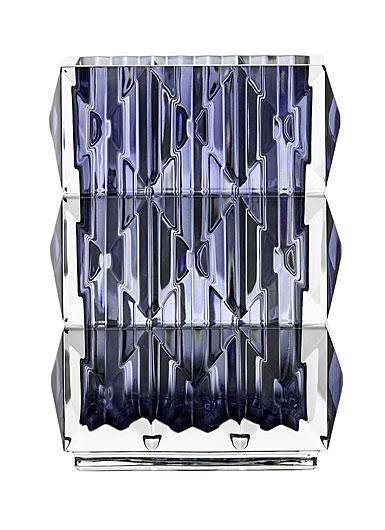 Baccarat Crystal, Louxor Crystal Vase, Blue