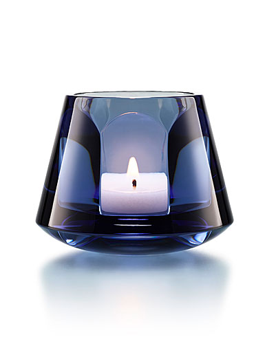 Baccarat Harcout Baby Our Fire Votive, Blue