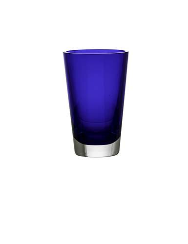 Baccarat Crystal, Mosaique Crystal Vase, Blue