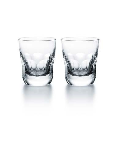 Baccarat Crystal, Harcourt Eve Tumbler #3, Pair