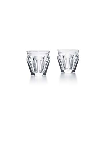 Baccarat Crystal, Harcourt Talleyrand #7 Tumblers, Pair