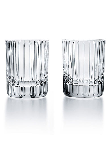 Baccarat Harmonie Old Fashioned Tumblers, Pair