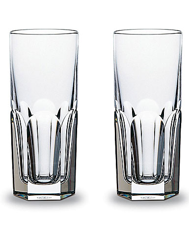 Baccarat Crystal, Harcourt 1841 Happy Hours, Pair