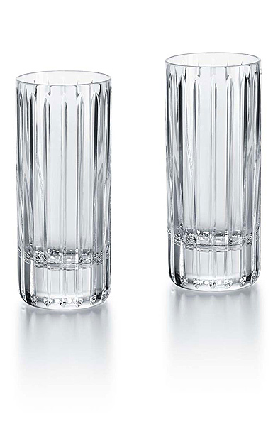 Baccarat Crystal, Harmonie Happy Hours Tumbler, Pair