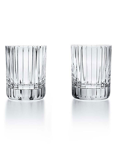 Baccarat Crystal, Harmonie Double Shot, Small Tumblers, Pair