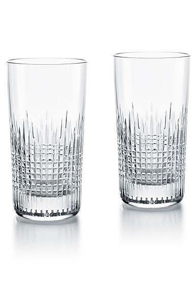 Baccarat Crystal, Nancy Crystal Highball, Pair