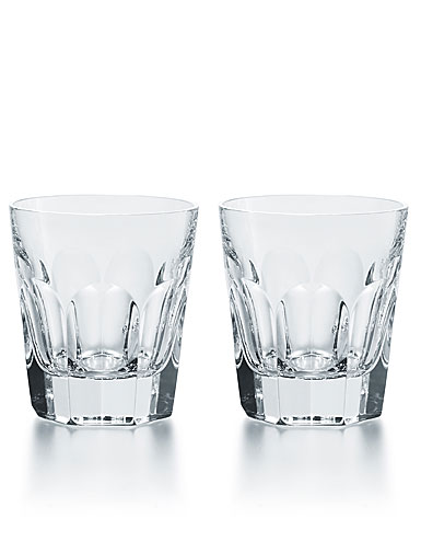 Baccarat Crystal, Harcourt 1841 Double Old Fashion #2, Boxed, Pair