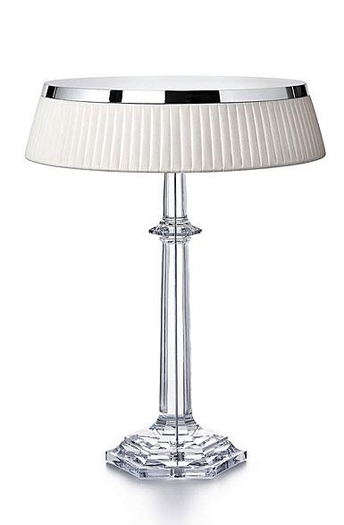 Baccarat Crystal, Crystal Lamp Bon Jour Versailles, Large