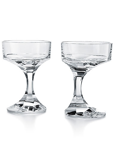 Baccarat Narcisse Champagne Cocktail Coupe Pair