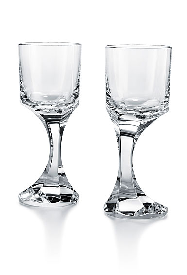 Baccarat Narcisse White Wine Glass Num. 3 Pair