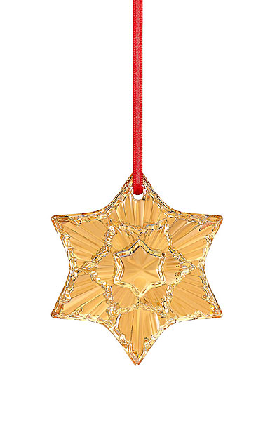 Baccarat 2020 Annual Christmas Ornament, Gold