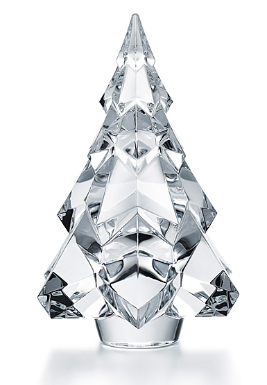 Baccarat Gstaad Fir Christmas Tree, Clear Large