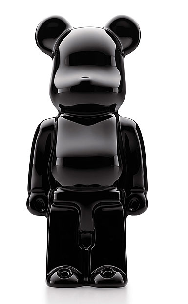 Baccarat Crystal BearBrick, Black