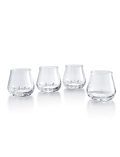 Baccarat Faunacrystopolis Stemless Wine Tumblers, Set of 4