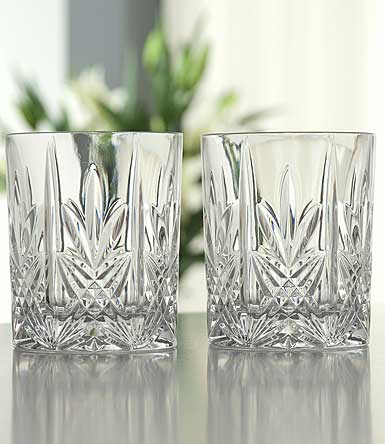 Galway Crystal Abbey DOF, Set of Four