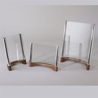 Nambe Metal and Wood Sky Frame Vertical 5X7