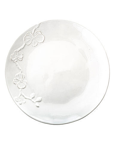 Michael Aram White Orchid Stoneware Dinner Plate
