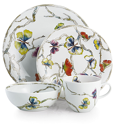 Michael Aram China Butterfly Ginkgo Four Piece Set