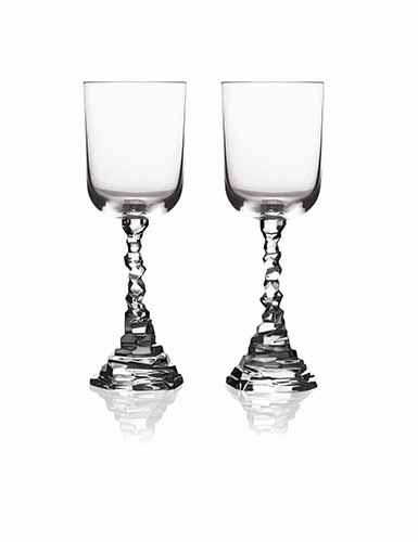Michael Aram Rock Wine Glass, Pair