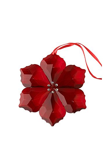 Villeroy and Boch 2020 Crystal Gems Poinsettia Ornament