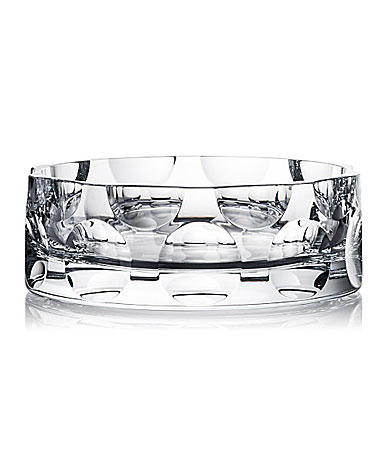"Rogaska Crystal, Dots 10"" Crystal Bowl"