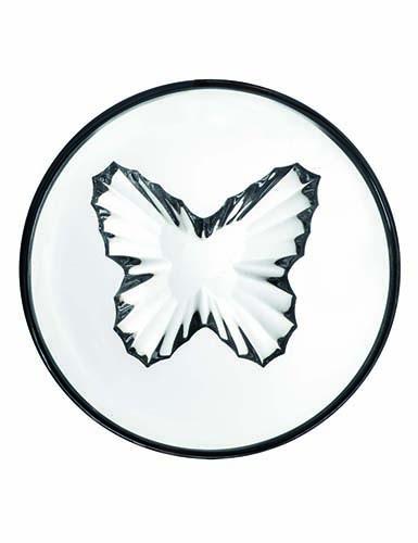 Rogaska Crystal, Live, Love, Sparkle Mini Crystal Bowl, Butterfly