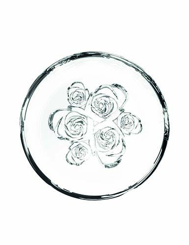 Rogaska Crystal, Live, Love, Sparkle Mini Crystal Bowl, Flowers