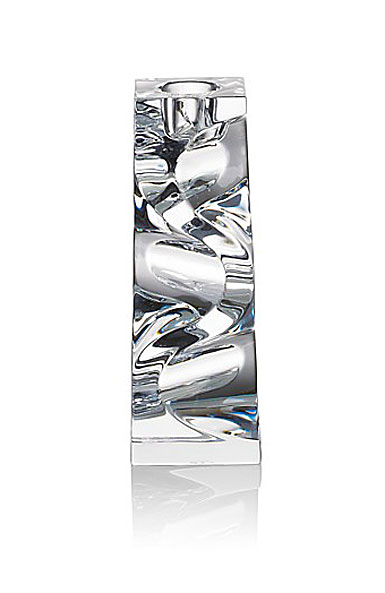 "Rogaska Crystal, Cobra 6"" Crystal Candleholder, Single"