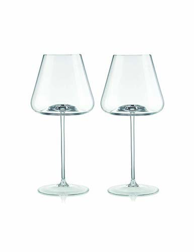 Rogaska Armonia White Wine, Pair