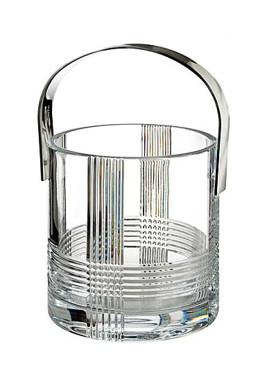 Rogaska Fan Club Ice Bucket with Handles