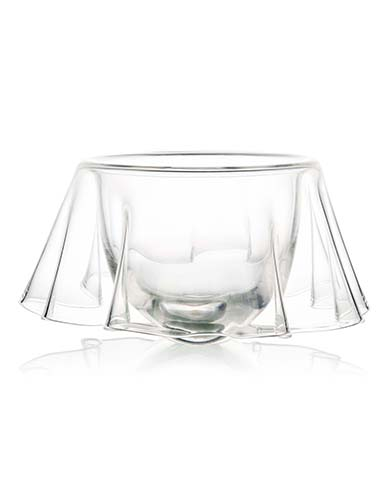 Rogaska Drape Centerpiece Bowl Large 13""