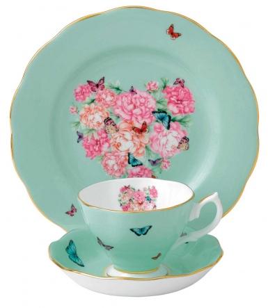 Miranda Kerr for Royal Albert Blessings 3 Piece Tea Set