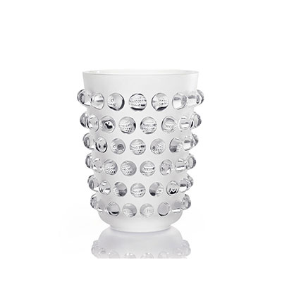 Lalique Crystal, Mossi Crystal XXL Vase, Limited Edition