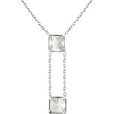 Lalique Rayonnante Pendant Necklace, Clear