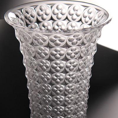 Lalique Crystal, Venezia Crystal Vase