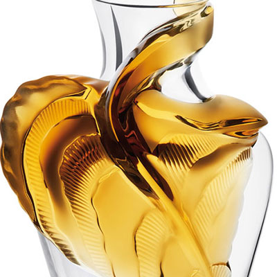 Lalique Crystal, Tanega Amber, Limited Edition