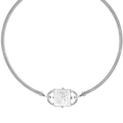 Lalique Crystal Nysa Colier, Clear