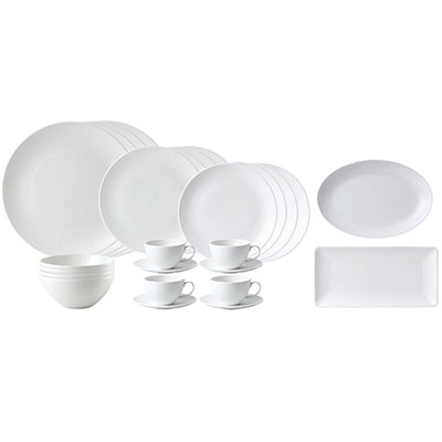 Wedgwood China Gio 26 Piece Set, 260th Anniversary Limited Edition