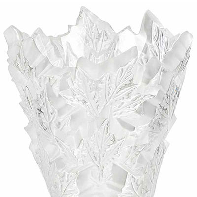 Lalique Crystal, Champs Elysees Crystal Vase, Clear