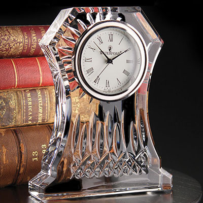 Waterford Crystal, Lismore Large Crystal Clock