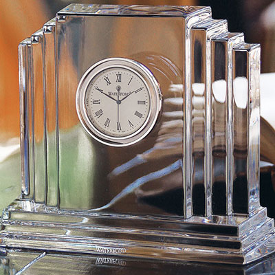 Waterford Crystal, Metropolitan Medium Crystal Clock